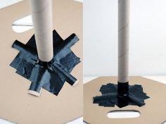 DIY – Steffi, wie bastle ich eine Windeltorte? Grundform mit Anleitung und Bildern! http://barfussimnovember.com