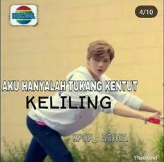 28 ideas memes indonesia wanna one - Humor Memes Funny Faces, Funny Kpop Memes, Funny Humor, Super Memes, K Meme, Nct, Memes In Real Life, Cartoon Jokes, New Memes