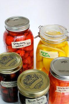 Drink: Fruit Infused Alcohol Recipe | Key Ingredient