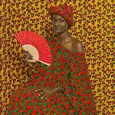 Aminata. © Victor Omar Diop, 2014