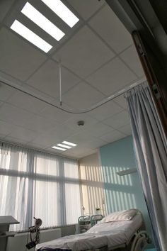 Exled's LED panel at Yeovil Hospital.