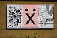 """Ficciones Typografika 049-051 (24""""x36""""). Installed on August 12, 2013. Very pleased to feature (from left to right), Tyler Spangler (2013), Marcus Conner (2013), and Ksenija Serbina (2013). More: http://ficciones-typografika.tumblr.com/"""