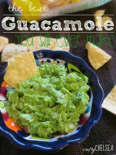 The Best Guacamole You Will Ever Make: Seriously the best guacamole recipe ever. I think it's the reason we get invited to parties! And it's so easy!