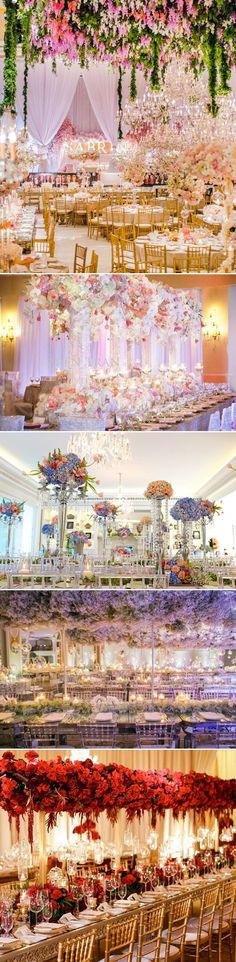 30 Stunning Luxury Indoor Reception Decoration Ideas You don't Want to Miss! (Garden Inspired)
