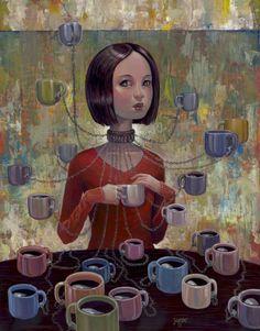 Coffee Addiction Art