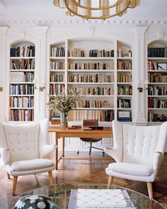 Bookcase Obsession Design Details Library Wall Dream
