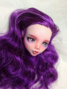 "OOAK Monster high Doll repainted by ""the cat's tea"""