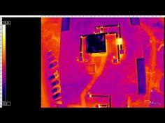 Déperdition thermique avec Drones Images