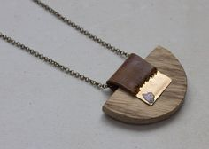 Wood Necklace, Native America Jewelry, Natural Long Necklace, Leather and wood Pendant, Festival Accessory, Leather Necklaces For Women by Attura on Etsy https://www.etsy.com/listing/545214079/wood-necklace-native-america-jewelry