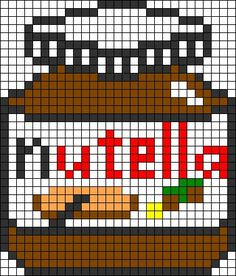 Licorne Pixel Art Nourriture Kawaii Facile