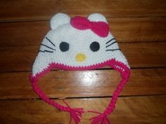 Hello Kitty Crochet hat