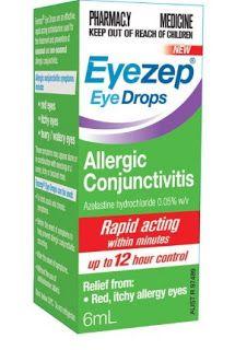 دليل القطرات Eyezep قطرة العين آيزيب Allergy Eyes Pharmacy Medicine Eye Drops