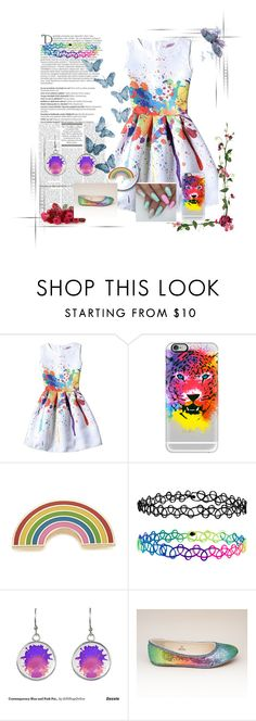 """painting is fun!"" by foreverawesome123 on Polyvore featuring Casetify, Georgia Perry, Accessorize and Balmain"