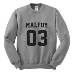 malfoy 03 FRONT #sweatshirt #shirt #sweater #womenclothing #menclothing #unisexclothing #clothing #tops