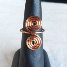 made in Ireland. by terramor on Etsy Copper Rings, Wire Rings, Ireland, Trending Outfits, Unique Jewelry, Handmade Gifts, How To Make, Etsy, Vintage