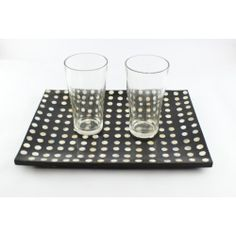 Black & White Mother of Pearl Tray
