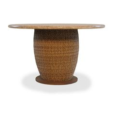 Outdoor Lloyd Flanders Tobago All-Weather Wicker 48 in. Round Patio Dining Table - 226048-093