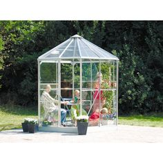Found it at Wayfair.co.uk - Hera Greenhouse with Horticultural Glass