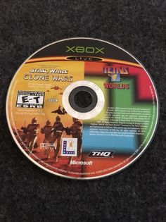 Star Wars Clone Wars Tetris Worlds Original Xbox Game Disc Only | eBay