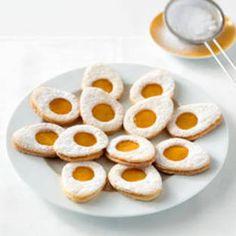 Rezept: Kekse in Spiegeleier-Optik