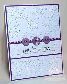 Paper Playhouse: Let it Snow