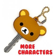 San-X Rilakkuma and Sentimental Circus Key Cap Cover.