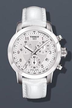 Tissot PRC 200 Danica Patrick Limited Edition 2013 Ladies Watch T0552171603200 Silver Dial Quartz Movement: Watches: Amazon.com