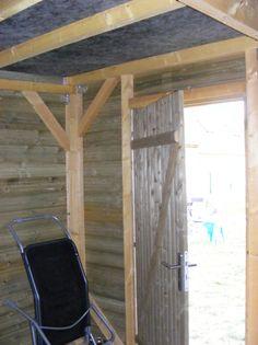 construction de mon abri de jardin - L'atelier de Zep Shipping Container Cabin, Shed Plans, Laminate Flooring, Construction, Outdoor Structures, Architecture, Building, Home Decor, Week End