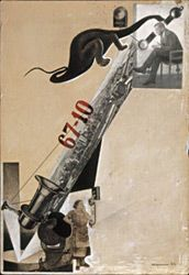 "Alexander RODCHENKO, Photomontage ""Monster of Jealousy"" for Pro Eto (About It), a poem by Vladimir Mayakovsky, 1923 Alexander Rodchenko, Collages, Photomontage, Vladimir Mayakovsky, Cubist Art, Russian Constructivism, Russian Avant Garde, Modern Art Movements, Photoshop"