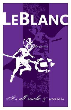 Le Blanc | Ле Блан @League of Legends Print | Лига Легенд #LoL #ЛоЛ