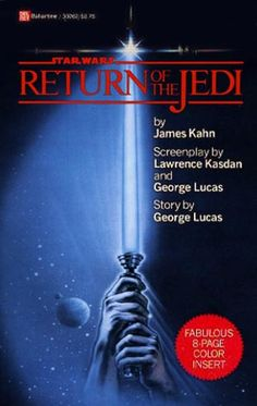 What Were We Reading 30 Years Ago? 1983′s 10 Bestselling Books - #1. Return of the Jedi by James Kahn - A success the moment it hit shelves in May,1983, it was number one on the New York Times' hardcover and paperback bestseller lists (a first) and by June had been reprinted 11 times. The first Star Wars novelisation was  released before the film. It was ghostwritten by Alan Dean Foster - credited to George Lucas and released in Nov. 1976, film opening in May 1977.  Source: Publishers Weekly