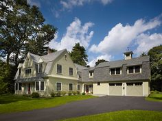 addition to a 1930 home MA | Concord MA whole house renovation with large addition to rear and ...