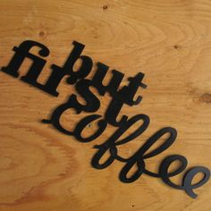 but first coffee metalsign metal wall art by weldhaus on Etsy