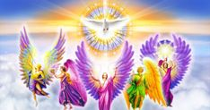 This was the logo for the International Atman Angels' & Archangels' Week. Help the angels bring light and love to our planet.