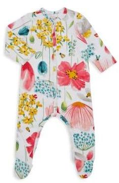956e018dc2a0 Catimini - Baby s Floral Printed Footie