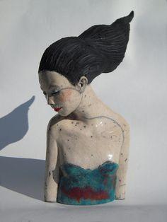 Petit buste by Melanie Bourget, via Flickr