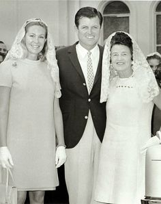 Joan, Ted and Rose Kennedy - Google Search