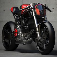 Ducati....love the color.  Handle it with care it's a monster.