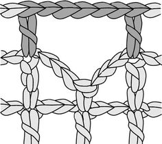 """FILETCROCHET Filet in French simply means 'net or a mesh"""". So filet crochet is Crochet patterns made in a net or a grid. It uses just 3 basic stitches like the chain stitch, the doubl…"""