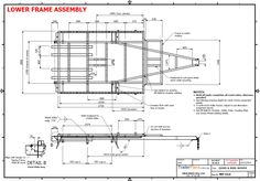 TRAILER PLANS - TRAILER BUILD - A custom plan with a full width hydraulic tipping trailer that converts into a toy hauler with removable sides. Work Trailer, Trailer Plans, Trailer Build, Utility Trailer, Overland Trailer, Flatbed Trailer, Camper Trailers, Cattle Trailers, Mini Motorhome