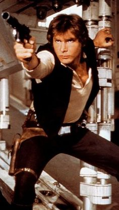 Han Solo - Star Wars Only the coolest character ever.