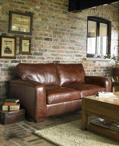 Barrow Clark - Cambridge 2 Seater Leather Sofa