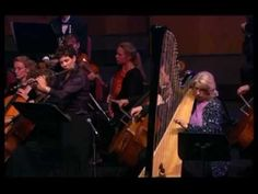 ▶ W.A. Mozart Music Concerto Flute and Harp K 299 - 2nd Movement - Beautiful Live Classical Concert - YouTube