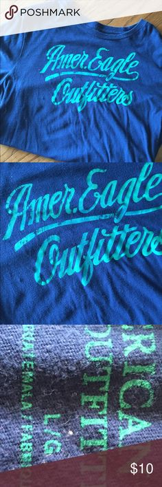 MENS AMERICAN EAGLE TEE Cool color combo. Not worn but a few times. Excellent condition. American Eagle Outfitters Shirts Tees - Short Sleeve