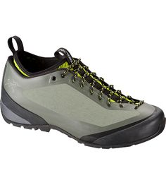 Acrux FL Approach Shoe Men's Advanced technical approach shoe with Arc'teryx Adaptive Fit technology, air permeable comfort and a seamless thermolaminated upper.