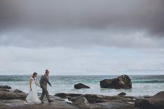FESTIVAL BRIDES | Håvard and Stine's Lofoten Islands Elopement, atmospheric wedding photography in Norway