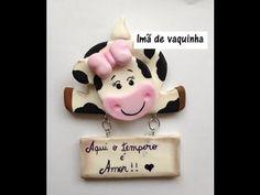 Aula Vaquinha porta recado Imã! - #especial dia das Mães#Raquel Fontinele - YouTube