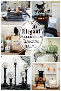 20 elegant Halloween Decor Ideas