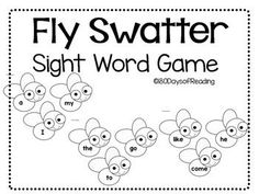 Sight Word Caterpillar Coloring Page *FREEBIE