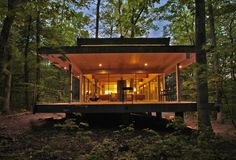 homes that wrap themselves around nature